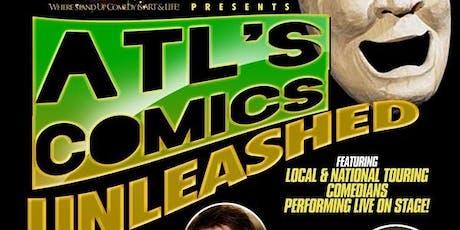 ATL's Comics Unleashed @ Oak Comedy Lounge tickets