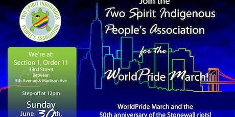 TSIPA WorldPride|Stonewall 50 March Registration tickets