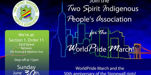 TSIPA WorldPride|Stonewall 50 March Registration