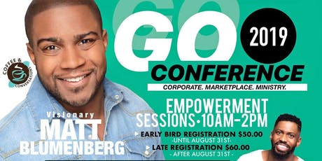 Coffee & Conversations, Chicago presents The GO Conference 2019 tickets