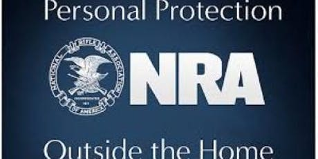 NRA Basics of Personal Protection Outside The Home Course tickets