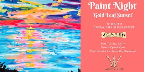 Paint Night 'Gold Leaf Sunset' to benefit C. A. R. E. tickets