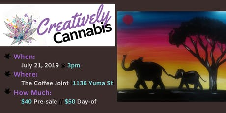 Creatively Cannabis: Tokes and Brush Strokes @ The Coffee Joint (7/21/19) tickets