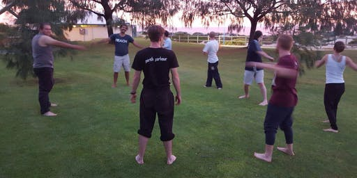 Perth Parkour Wednesday Night Class   Mindful Movement   6:30PM Training