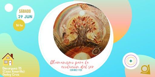 Chamanismo para la evolución del ser, con Mae y Fer