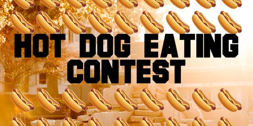 First Friday Hot Dog Eating Contest