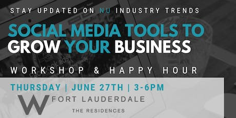 SOCIAL MEDIA TOOLS TO GROW YOUR BUSINESS tickets