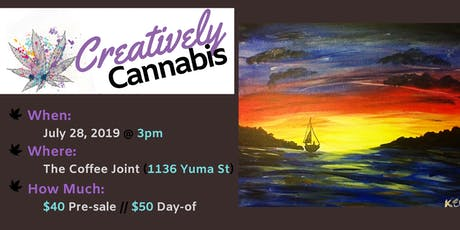 Creatively Cannabis: Tokes and Brush Strokes @ The Coffee Joint (7/28/19) tickets