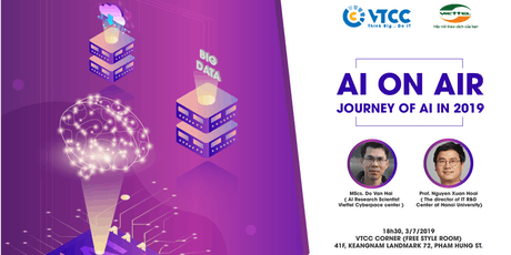 AI on air: Journey of AI in 2019 tickets