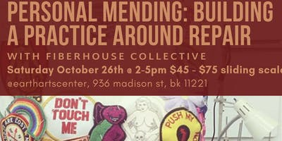 Personal Mending: Building a Practice Around Clothing Repair by Fiber House Collective