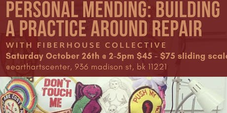 Personal Mending: Building a Practice Around Clothing Repair by Fiber House Collective tickets