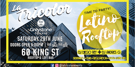 Winter Latino Party: Rooftop and Indoor party