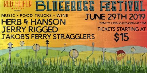 Red Heifer Winery Bluegrass Festival - Twilight Ticket