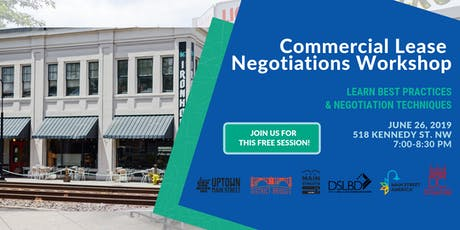 Small Biz Session: Commercial Lease Negotiations tickets