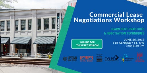 Small Biz Session: Commercial Lease Negotiations