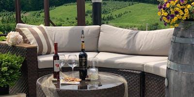 California Style  Outdoor Wine Tasting at Blue Ridge Winery