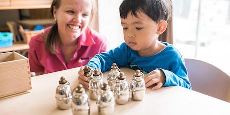 Montessori Workshop Sensorial 2 tickets