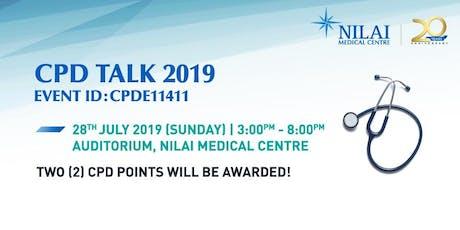 CPD Talk 2019 tickets