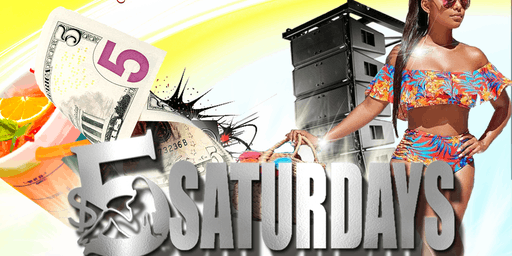 $5 Saturdays @ The Junction Bar & Restaurant