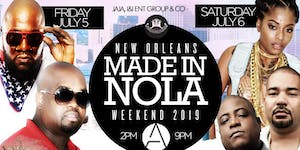 6th Annual #MADEINNOLAWEEKEND during ESSENCE FESTIVAL...