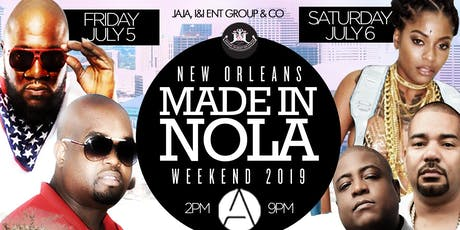 6th Annual #MADEINNOLAWEEKEND during ESSENCE FESTIVAL @ APRES tickets