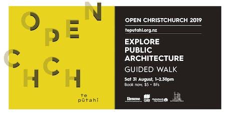 Open Christchurch: Explore Public Architecture tickets
