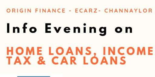 Info Evening on Home Loans, Income Tax & Car Loans