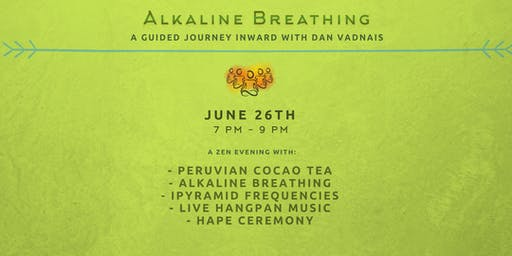 Alkaline Breathing Flow, Peruvian Cacao Tea, iPyramid Healing Frequencies