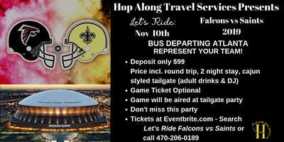 Let's Ride:  ATL vs NO Bus Ride to the Big Easy