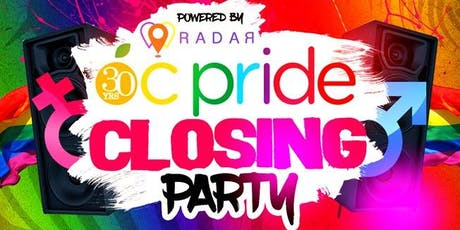 OC Pride Official Closing Party! 18+ tickets