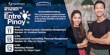 Greenhills EntrePinoy: Entrepreneur Talks and Workshops tickets