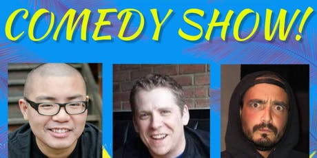 Sonar Comedy Show with Ed Hill, Darren Morris & Dom Oliveira! Saturday June 22th - doors 9pm, Show at 9:30pm! tickets