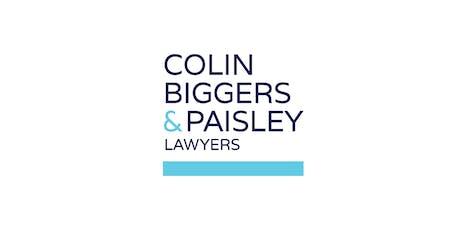 2019.07.22 - Colin & Biggers Paisley 2020 Graduate Program Information Session tickets