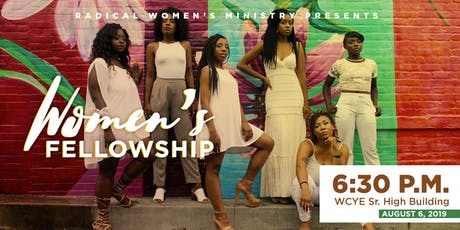 RWM August 2019 Women's Fellowship tickets