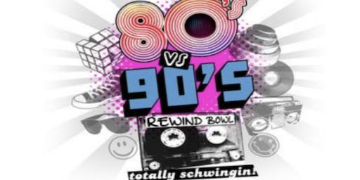 80's vs. 90's  Bowling Party