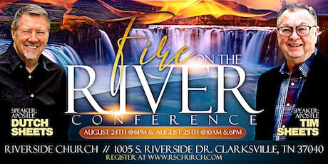 Fire on the River Conference tickets