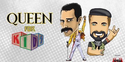 DESCONTÃO para show Queen for Kids no Theatro NET