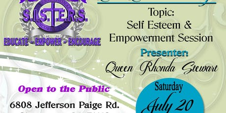 All ABOUT Change SELF Esteem & Empowerment Session tickets