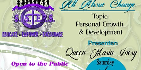 All About Change Personal Growth and Development Empowerment tickets