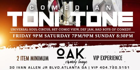 Comedian Toni Tone at OAK COMEDY LIVE tickets