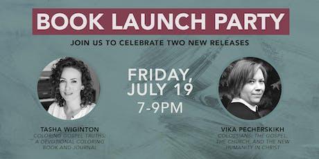 Book Launch Party for Vika Pecherskikh & Tasha Wiginton tickets