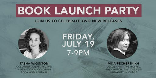 Book Launch Party for Vika Pecherskikh & Tasha Wiginton