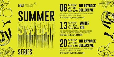 MELTprjct presents: Summer SWEAT Series tickets