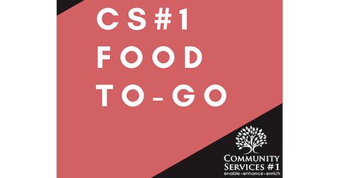 Food to-go (Week starting 24 June)