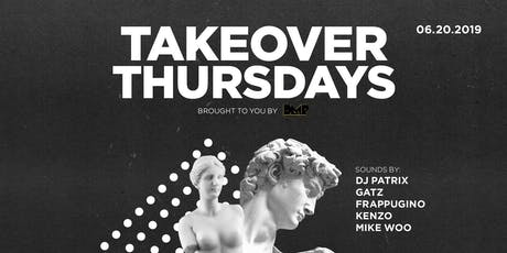 MIKEWOO for TAKEOVER THURSDAYS  tickets