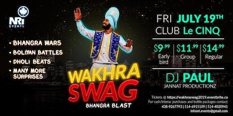 Wakhra Swag 2019 tickets