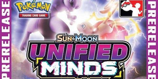 Pokemon TCG PreRelease: Sun & Moon—Unified Minds