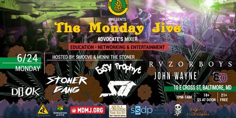 6.24 The Monday Jive tickets