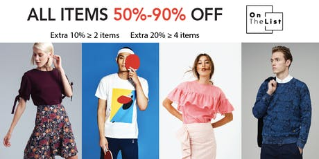 Designer Ready-to-Wear Flash Sale! All items 50%-90% Off! tickets