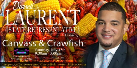 Canvass & Crawfish tickets